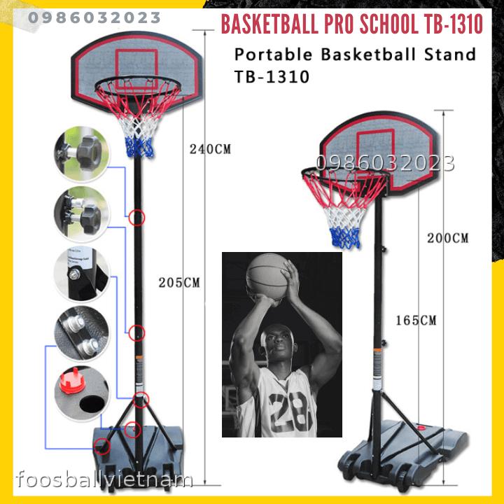 Basketball Trụ bóng rổ tiêu chuẩn trường học 🏀